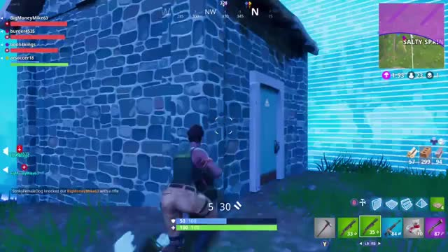 Watch Fortnite - double spike knockdown GIF on Gfycat. Discover more related GIFs on Gfycat