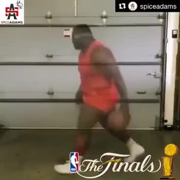 Big Man Hyped For NBA Finals game 5