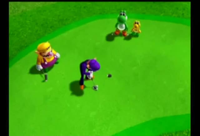 Watch Waluigi golf GIF on Gfycat. Discover more related GIFs on Gfycat