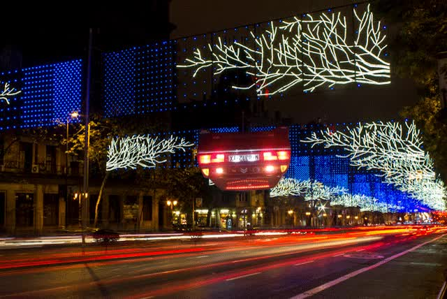 Watch and share XM2000 Luces Navidad GIFs by ripde on Gfycat