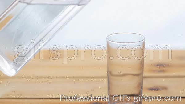 Watch and share Water Pouring Into Glass On Wooden Table Animated GIF GIFs on Gfycat