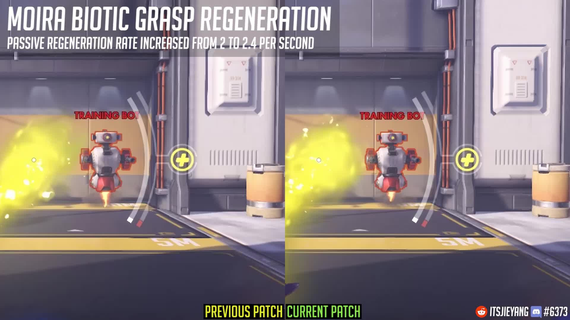 moira, overwatch, Overwatch Patch 9th August - Moira Passive Regeneration Buff GIFs