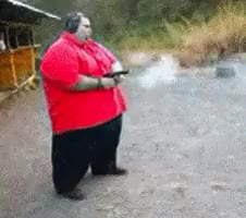Watch and share Fat People GIFs on Gfycat