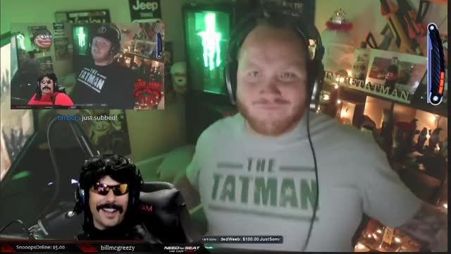TimTheTatman and DrDisrespect Body Roll-Ception LUL Streamers 720p 29.01.2019 (online-video-cutter.com)