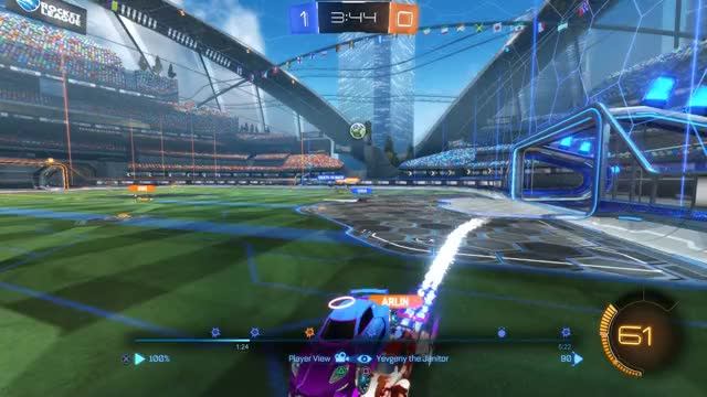 Watch and share Rocket League GIFs by tyrus.travis on Gfycat