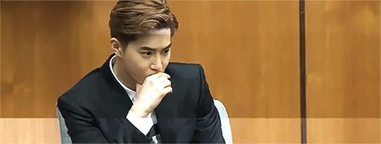 baekhyun, chanyeol, chen, exo, exo reactions, jongdae, jongin, kai, kris, kyungsoo, lay, luhan, sehun, suho, tao, xiumin, yixing,  GIFs