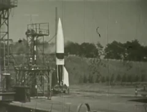 Watch and share GERMAN V 2 ROCKET TESTS AND FAILURES W/ Wernher Von Braun 3459 GIFs on Gfycat