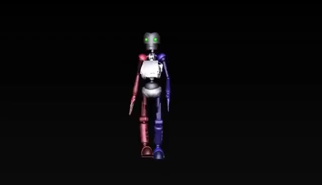 Watch and share 3D Robot Walk Cycle GIFs on Gfycat