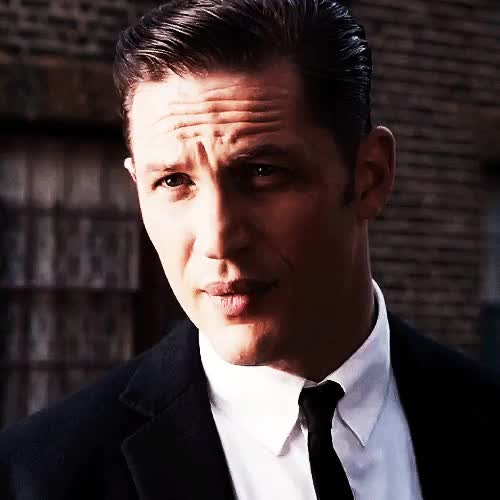 Watch and share Reggie Kray GIFs and Tom Hardy GIFs on Gfycat