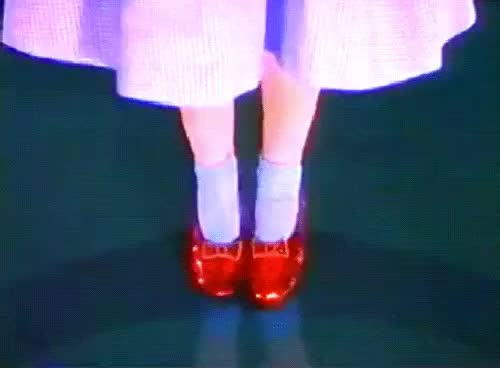 Watch and share Ruby Slippers GIFs on Gfycat