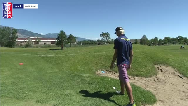 Watch Round Three 2018 Utah Open - Eagle McMahon Circle 2 Birdie Hole 2 GIF by Benn Wineka UWDG (@bennwineka) on Gfycat. Discover more dgpt, disc golf, disc golf pro tour GIFs on Gfycat