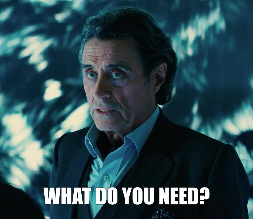 help, ian mcshane, john wick, john wick 3, john wick chapter 3, john wick chapter 3 parabellum, what, what do you need, John Wick Ian McShane What Do You Need GIFs