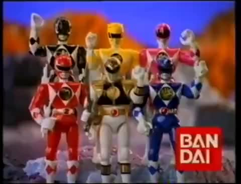 Watch Power Rangers (Anuncios de Juguetes Bandai) GIF on Gfycat. Discover more related GIFs on Gfycat