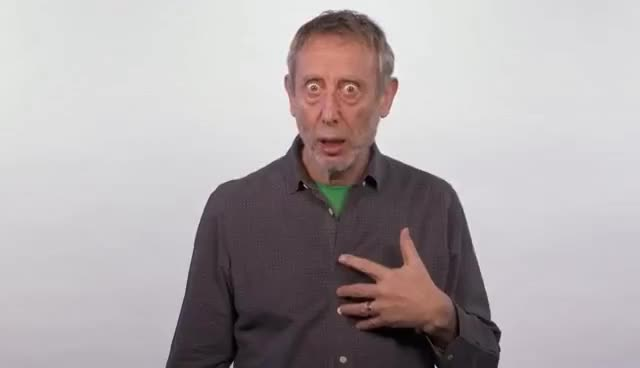 Watch and share Michael Rosen's Encounter With A Catholic Priest GIFs on Gfycat