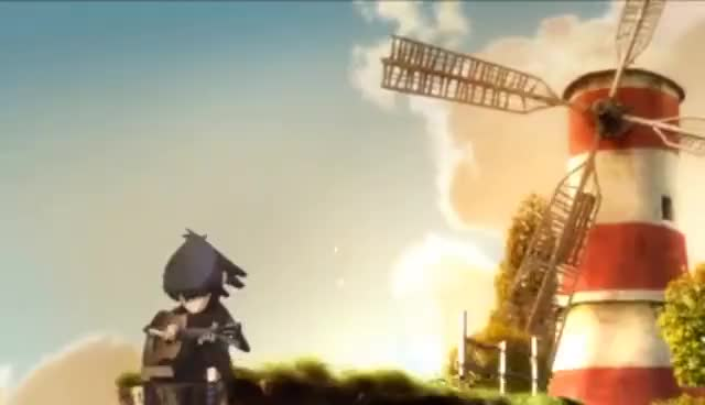 Watch and share Gorillaz - Feel Good Inc. (Official Video) GIFs on Gfycat