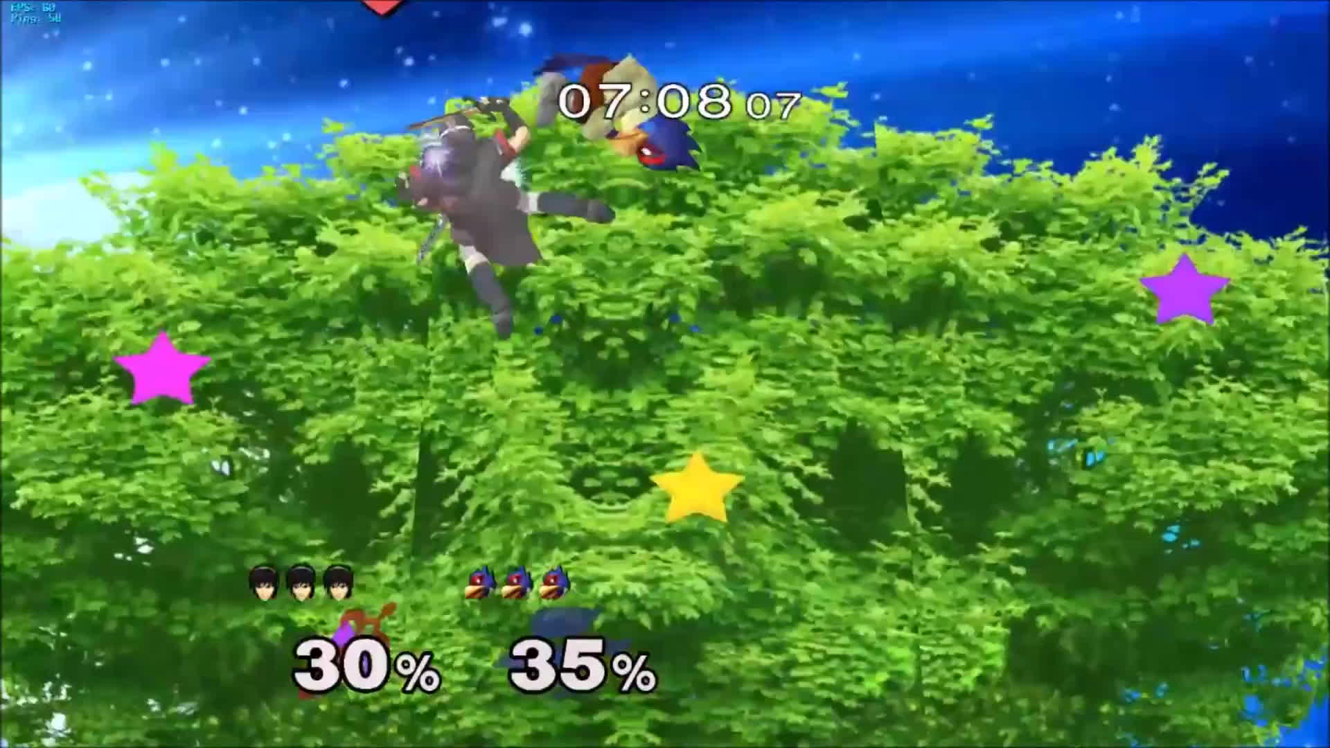 project m, rivals of aether, super smash brothers melee, di in GIFs