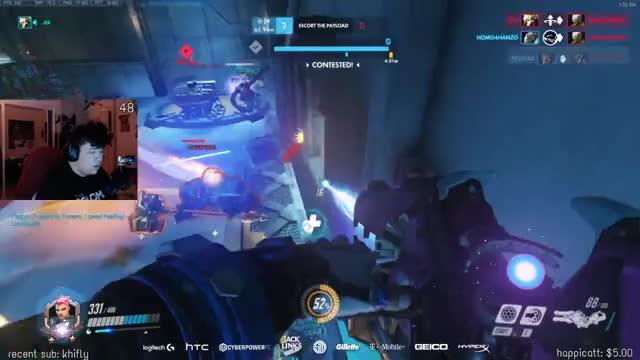 Literally died for Mercy's life
