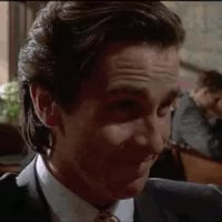Watch Patrick Bateman Laughs GIF on Gfycat. Discover more related GIFs on Gfycat
