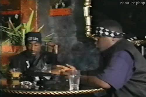 Watch Tupac Shakur & Notorious Big GIF on Gfycat. Discover more 2pac, Notorious BIG, Tupac Amaru Shakur, biggie, biggie smalls, h2, hip-hop, hip-hop old school, rap, tupac, tupac shakur, zona-hiphop GIFs on Gfycat