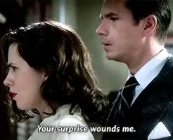 Watch and share Peggy X Jarvis GIFs and Agent Carter GIFs on Gfycat