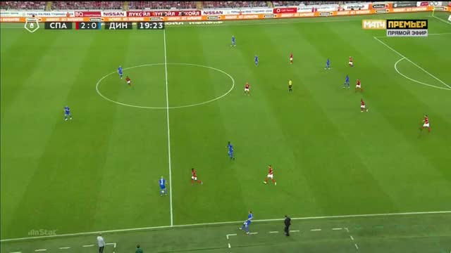 Watch and share 25.08.2018 - Spartak Moskva 2 1 Dinamo Moskva - Match In Ball In Play  Mode - 1st Half, 19 32 - 19 56 GIFs on Gfycat