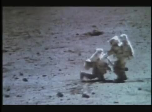 Watch this trending GIF on Gfycat. Discover more armstrong, astronauts, cosmos, footage, hoax, landing, moon, space, wire, wires GIFs on Gfycat