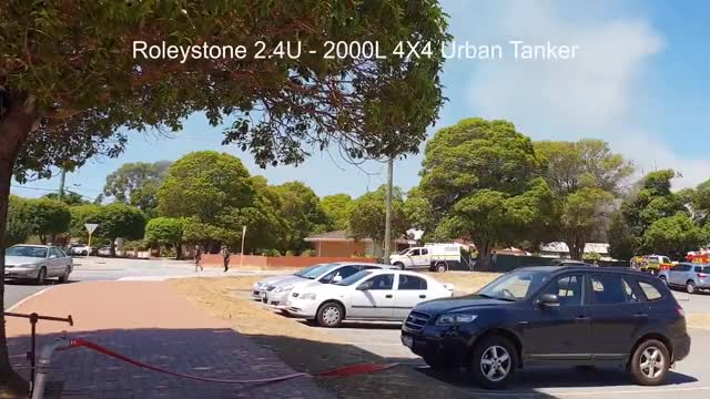 Watch Roleystone 2.4U - 2000L 4X4 Urban Tanker Responding GIF by UnitedStates_BountyHunter (@down_under) on Gfycat. Discover more 2nd Alarm House, Roleystone 2.4U - 2000L 4X4 Urban Tanker, Roleystone 2.4U - 2000L 4X4 Urban Tanker GIFs on Gfycat