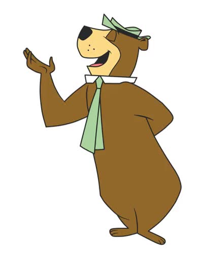 Watch and share Does A Yogi Bear Sh#t In The Woods? GIFs on Gfycat