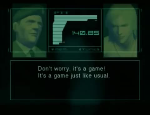 Watch and share Metal Gear Solid 2 - Colonel Campbell Craziness GIFs on Gfycat