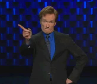 Conan O'Brien,  GIFs
