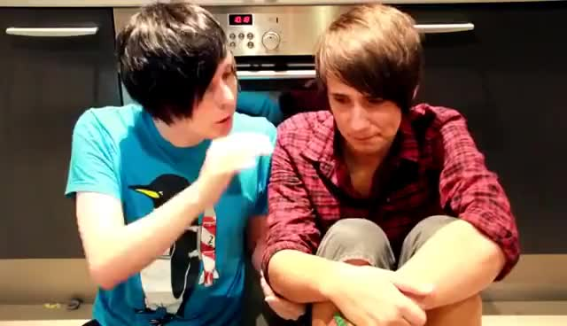Watch and share Dan And Phil GIFs on Gfycat