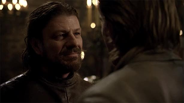 Watch and share Eddard Stark GIFs and Sean Bean GIFs on Gfycat