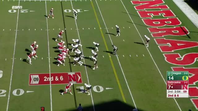 Watch and share Oregon Vs Nebraska GIFs and Oregon Football GIFs by uncommonsense00 on Gfycat