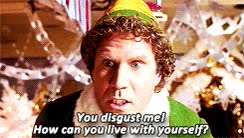Watch and share Buddy The Elf GIFs on Gfycat