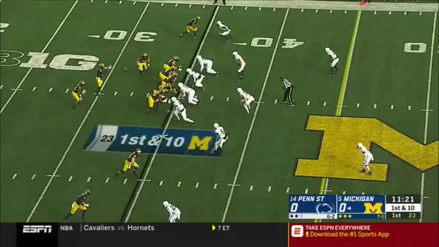Watch Split Zone GIF by mgoseth on Gfycat. Discover more football GIFs on Gfycat