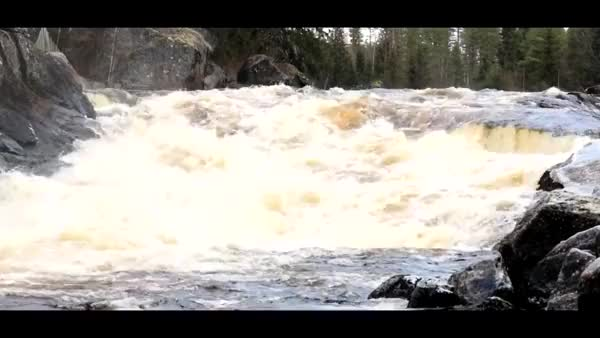 Watch and share HMRB While I Ride Up These Water Rapids In A Snowmobile. (reddit) GIFs on Gfycat