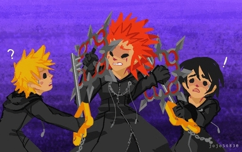 Kingdom Hearts Axel Gifs Search Search Share On Homdor