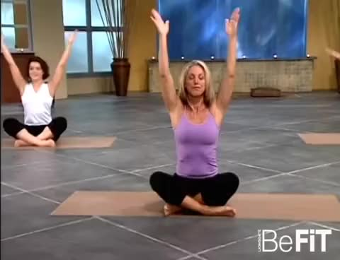 Watch and share Total Body Stretching & Flexibility Workout: Denise Austin GIFs on Gfycat