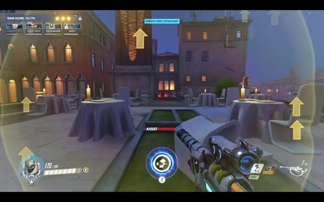 Watch and share Overwatch GIFs and Assassin GIFs by Ishbibenob on Gfycat