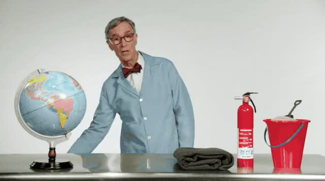 Watch this bill nye GIF by Pete Brown (@pauljonesb) on Gfycat. Discover more bill nye, climate change, fire, global warming, john oliver, late night, planet GIFs on Gfycat