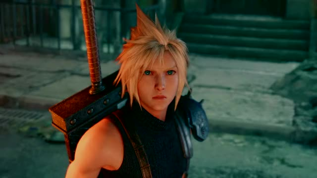 Watch and share FINAL FANTASY VII REMAKE DEMO Secret Ending GIFs by leonhurley on Gfycat