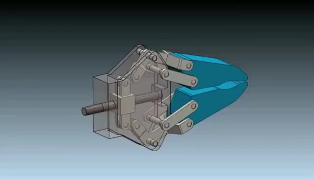 Watch and share Robot Gripper Mechanism In SolidWorks 2012 GIFs on Gfycat