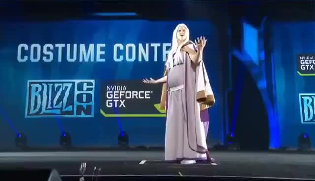 Watch Blizzcon 2016.Costume Contest GIF on Gfycat. Discover more related GIFs on Gfycat