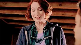 Watch and share Charlie Bradbury GIFs and Felicia Day GIFs on Gfycat