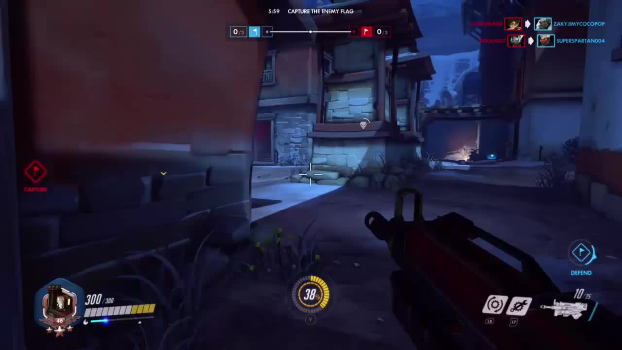 OWConsole, Overwatch, popular, Nobody puts bastion in a corner GIFs