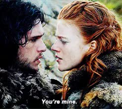 Watch and share Game Of Thrones GIFs and Jon X Ygritte GIFs on Gfycat