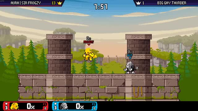 Watch and share Rivals GIFs by Hound | Sir FROGZY on Gfycat