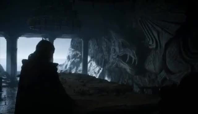 """Watch Game of Thrones 7x01 - Dany Arrives at Dragonstone """"Shall We Begin?"""" GIF on Gfycat. Discover more related GIFs on Gfycat"""