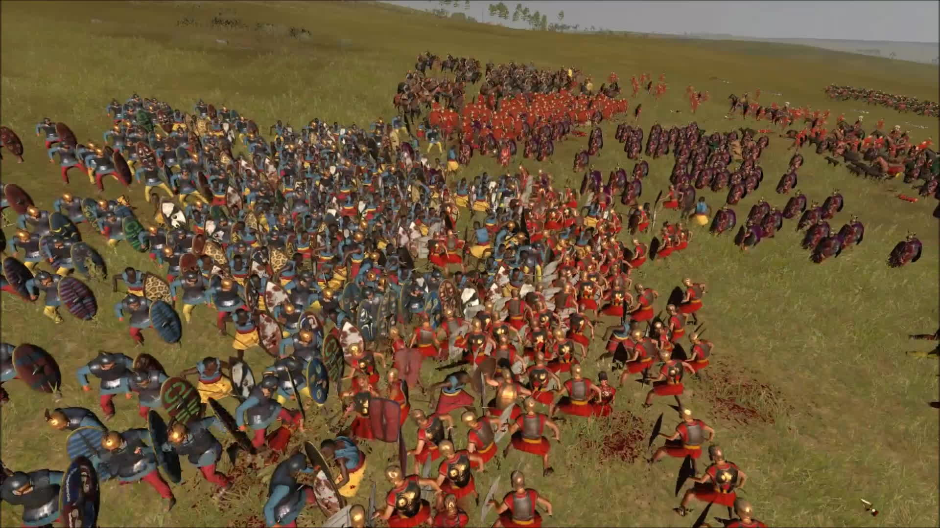 totalwar, R2 large fight GIFs