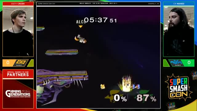 Crush Up Smashes Mang0's Shield